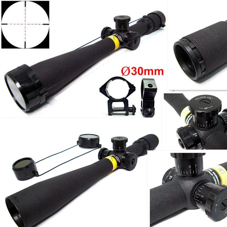 Envío Gratis, mira telescópica táctica BSA 8-32x44 mil-dot para Rifle, enfoque lateral de rueda + monturas de riel de 30mm gratis, mira telescópica para exteriores