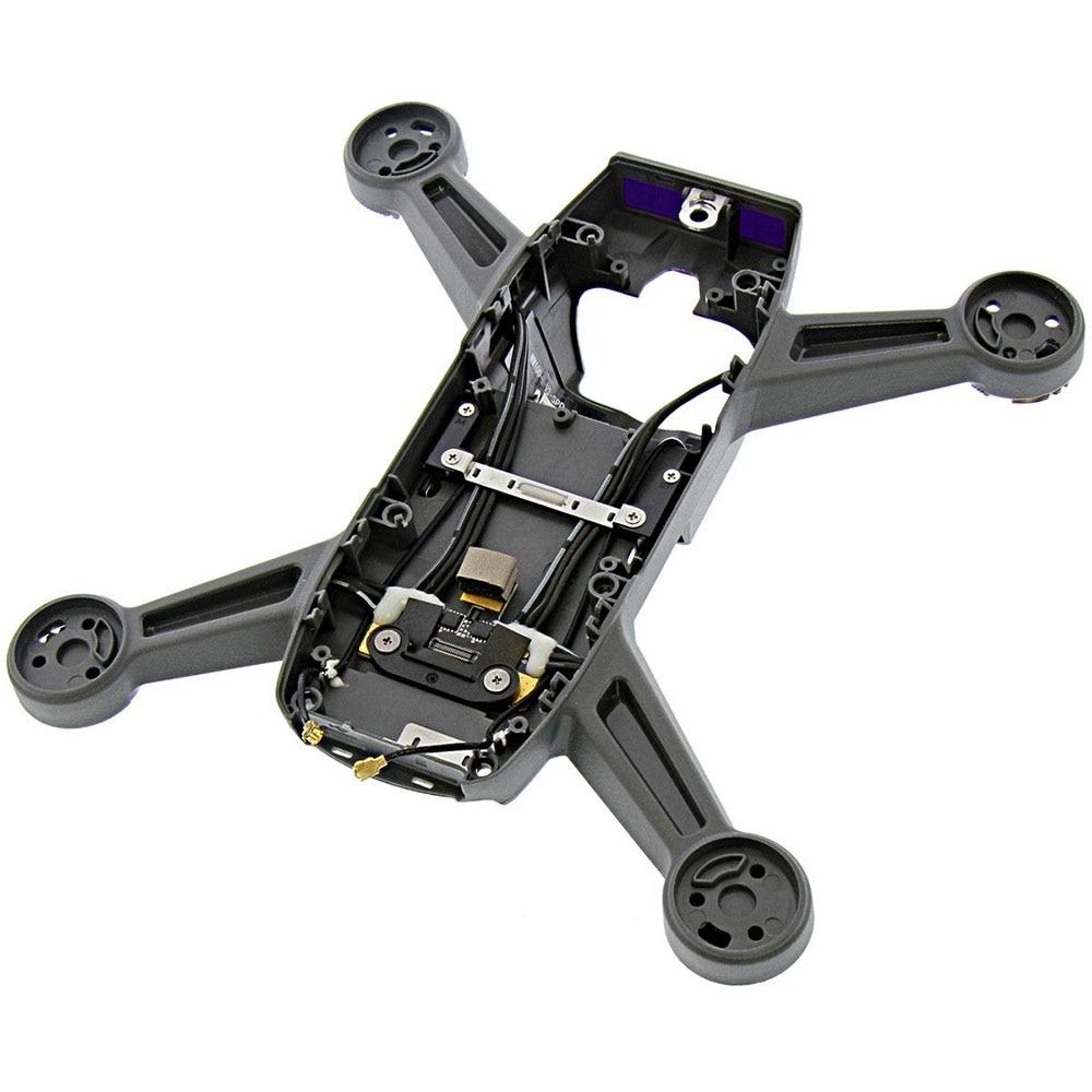 Carcasa de cuerpo de Marco medio genuino para DJI Spark, carcasa de cuerpo, pieza de repuesto DJI Spark RC Drone, accesorios originales de medio marco