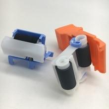 J8J70-67904 taca 2 separacja Pad i Pickup Roller montażowe dla HP M607 M608 M631 M632 M633 części do drukarek laserowych RM2-1275 RM2-6772