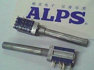 2 шт./лот ALPS Alps поворотный переключатель диапазонов 4,6 оси длиной 40 мм