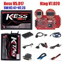 2019 Kess V2 V5.017 V2.47 Master Volledige Ktag V7.020 V2.23 Rood Eu K-TAG 7.020 Ecu Programmeur Kess 5.017 2.47 Ecu chip Tuning Tool