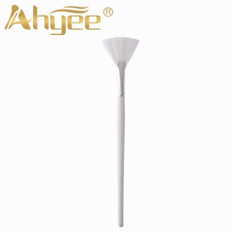 Профессиональная длинная кисть для веера, глиняная маска, сыворотка, инструменты, ручка синтетических волос, косметическое средство для ухода за кожей, инструмент для макияжа