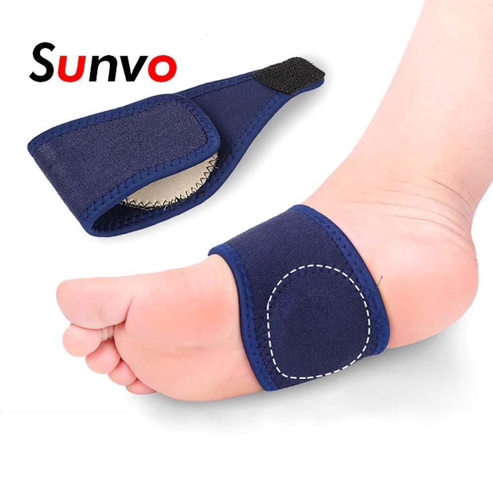 Bandagem de apoio arco para fasciite plantar ortopédica calcanhar alívio da dor ortopédica almofadas de almofada plana pé inserções de cuidados