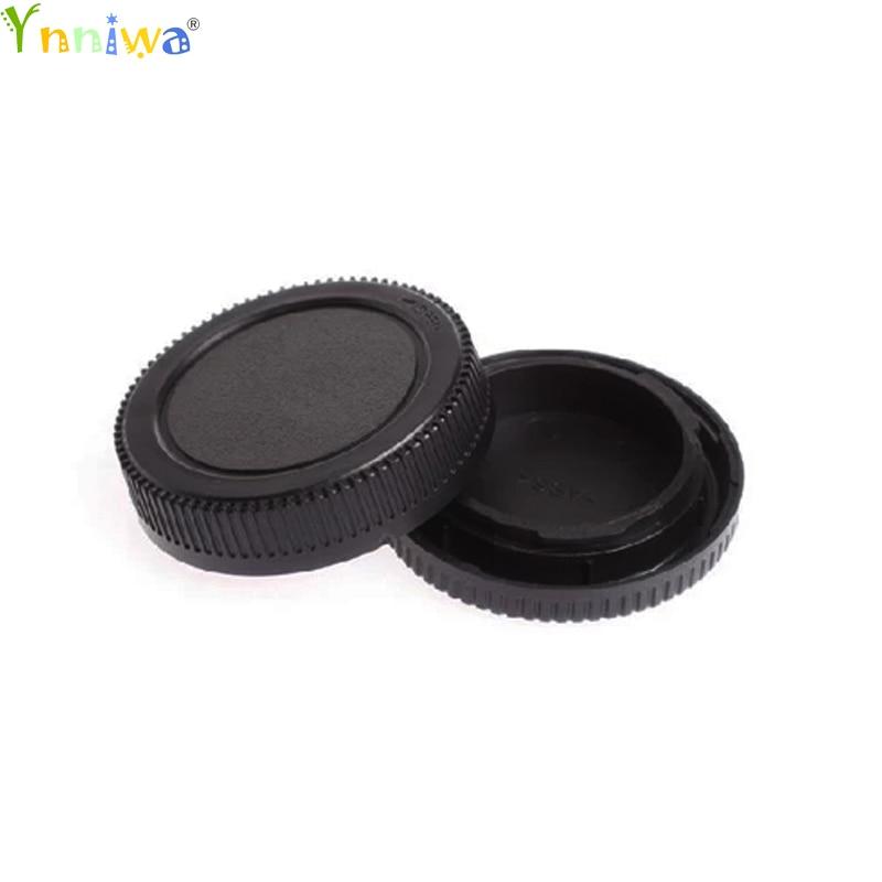50Pairs/lot Camera Lens Body Cover + Rear Lens Cap Hood Protector For LumIx-Micro E-P1 E-P2 Camera and Lens