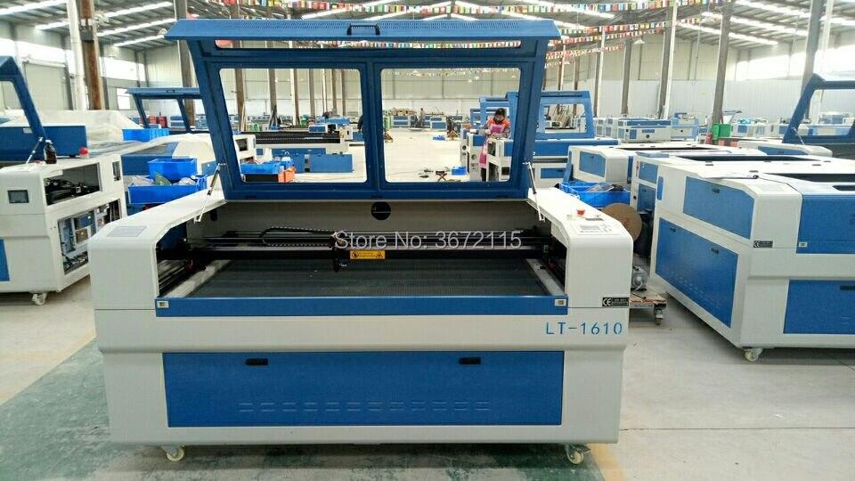Máquina cortadora láser co2 de corte de cartón de doble color 1390/1610 90w 100w