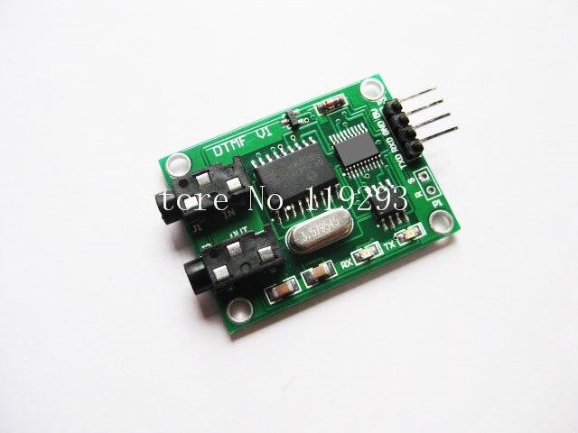 [[BELLA] générateur de tonalité multi-fréquence double tonalité décodant un encodeur DTMF 30 reçoit les données de série-5 pièces/lot