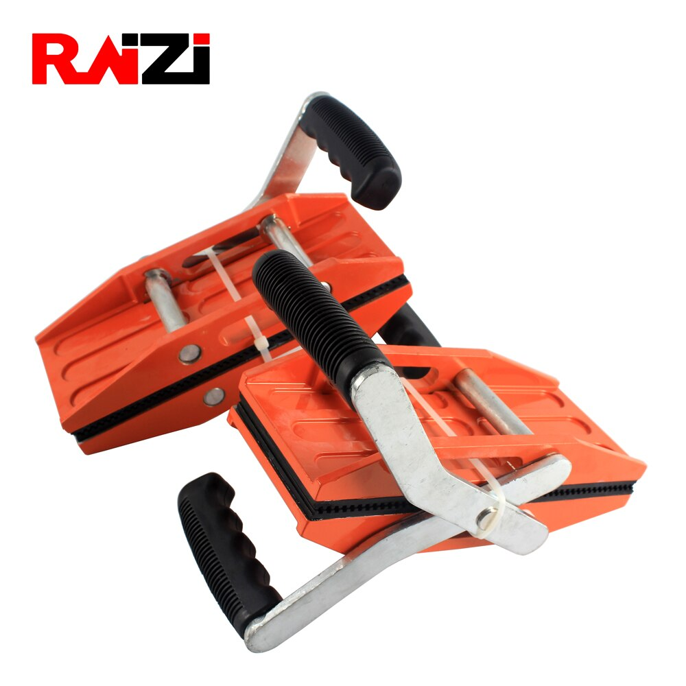 Raizi 1 Pair Double Handed Granite Carry Clamps 0-54 mm Glass Granite Stone Handling Lifting Tools