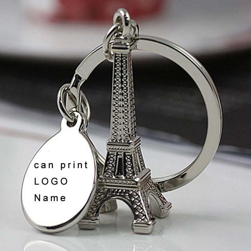 (50 шт./лот) серебряный брелок «Эйфелева башня» Париж Тур Эйфелева персонализированный брелок для ключей свадебные сувениры и подарки сувени...