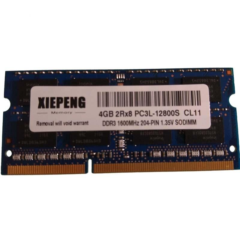 4 gb 2Rx8 PC3L-12800S DDR3L 8 gb de RAM SODIMM 1600 mhz de Memória Notebook para DELL OptiPlex 3240 AIO 9010a 9020 AIO 9020 Micro 9030 AIO