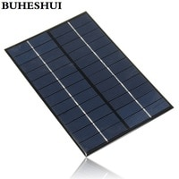 BUHESHUI 12V 4.2W 350MA Solar Panel Mini Solar Cell Panel Solar Module DIY Solar System 200*130*3MM 2pcs/lot Free Shipping