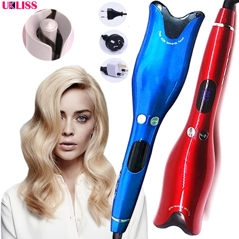 1 Inch Automatic Curling Iron Air Curler Wand Curl Rotating Magic Hair Curling Iron Titanium Salon Hair Styling Dropshipping