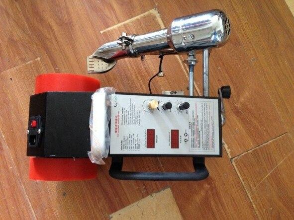 2017 Nuevo soldador de pvc de aire caliente de plástico de la antorcha de suministro de piezas de automóvil pistola de aire caliente de plástico de la tienda de rebaja pvc banner calentador de soldadora