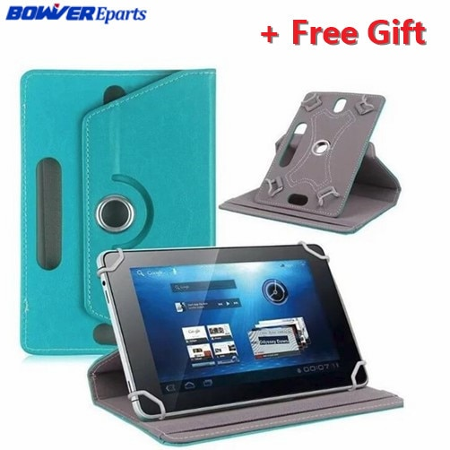 "10.1"" 360 Degree Rotating PU Leather Case For  BQ 1081G/1045G/1007/BQ-1081G/Aquaris M10/E10/esla 2 W10 10.1inch Tablet"