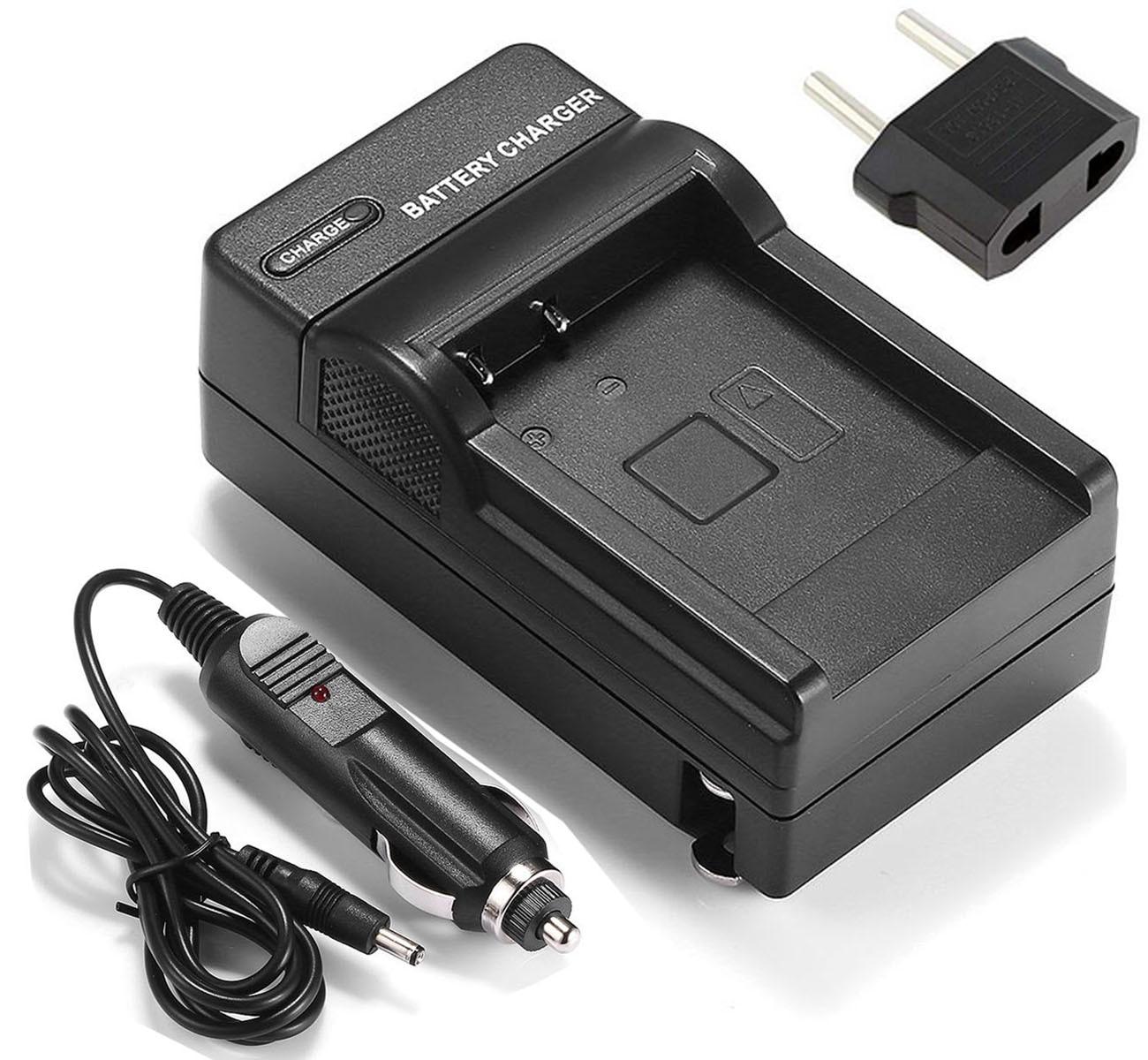 Cargador de batería para JVC GR-D240EK, D250EK, GR-D250U, GR-D270U, GR-D271U, GR-D275U, GR-D290U, GR-D295U, D290EK MiniDV videocámara