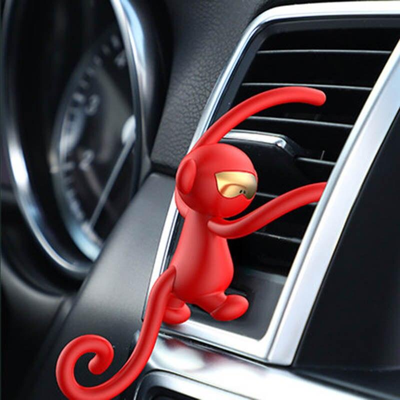 Divertido ambientador de coche ornamento para Peugeot 307 206 407 Citroen C4 C5 Honda Civic 10 Accord CRV Lada Vesta salida de ventilación de aire