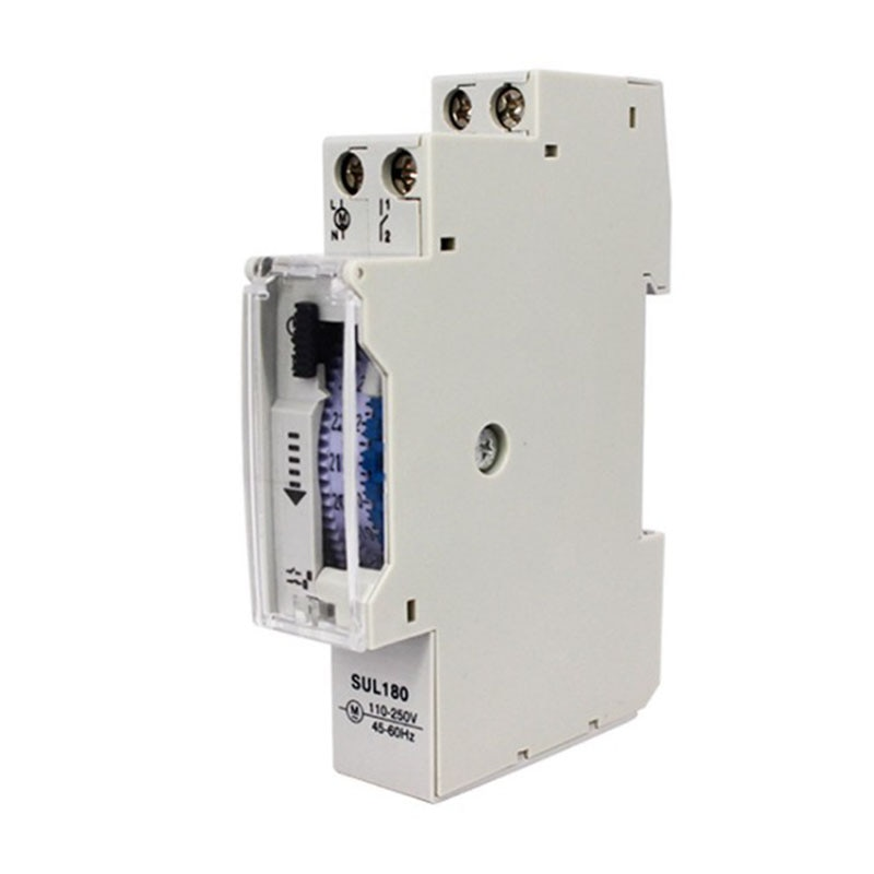 15 Minutes Mechanical Timer 24 Hours Programmable Din Rail Timer Time Switch Relay Measurement Analysis Instruments