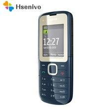 C2-00 dorigine débloqué Nokia C2-00 téléphone portable couleur noir et rouge remis à neuf