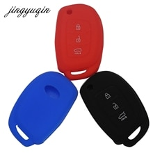 Jingyuqin-coque en silicone pour Hyundai   30 pièces, pour Sonata Fe Avante Porter Grandeur Sonata i30 Solaris ix35, Protection de clés