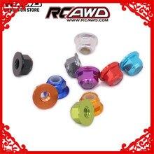 RCAWD M4 4mm écrou de blocage hexagonal de roue pour voiture RC 1/12 Wltoys L959 L969 L979 L202 L212 L222 K959 Monster Truck 1/16 Traxxas Slash