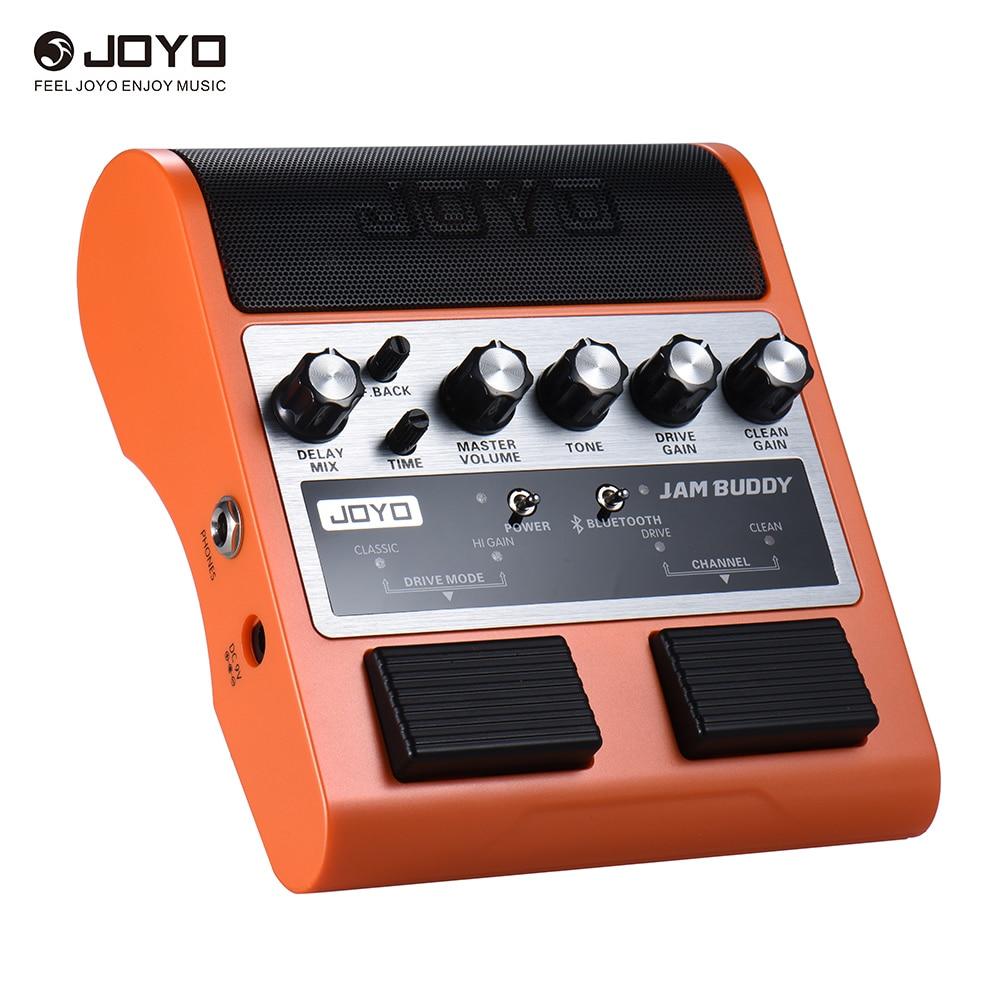 JOYO JAM BUDDY portátil recargable 4,0 Doble Canal 2*4 W Pedal estilo guitarra amplificador Amp altavoz
