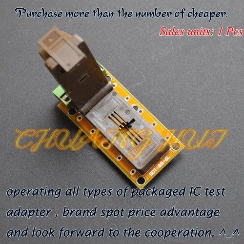 SOT-89-6L test socket SOT89-6L socket/Aging test socket(pcb)