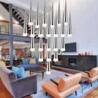 modern led pendant light for kitchen living room bar single head droplight