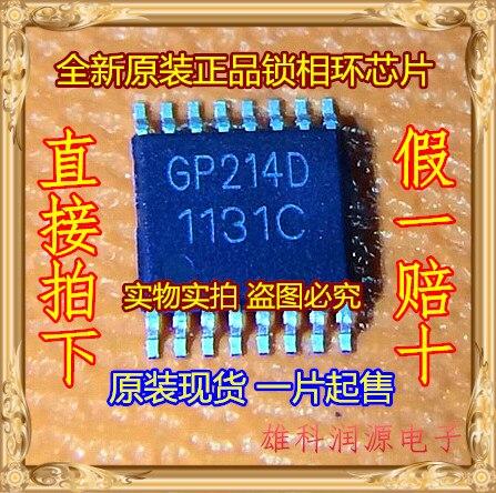 Envío gratis 10 unids/lote GP214D TSSOP-16 PLL chip original nuevo