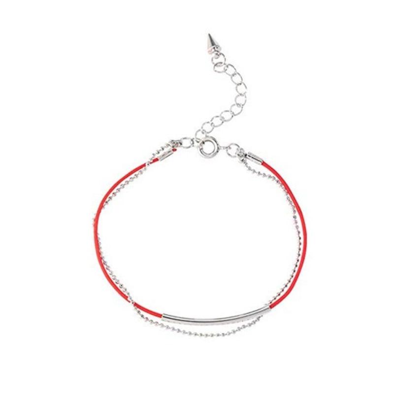 2018 new fashion Korea Bangtan Boys Kpop  Bracelet Link Red Rope Charm Bracelets For Women Men Jewelry