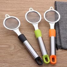 Küche Kleine Werkzeug Soja Milch Filter Bildschirm Trompete Halten Mehl Sieb Küche Filter Öl