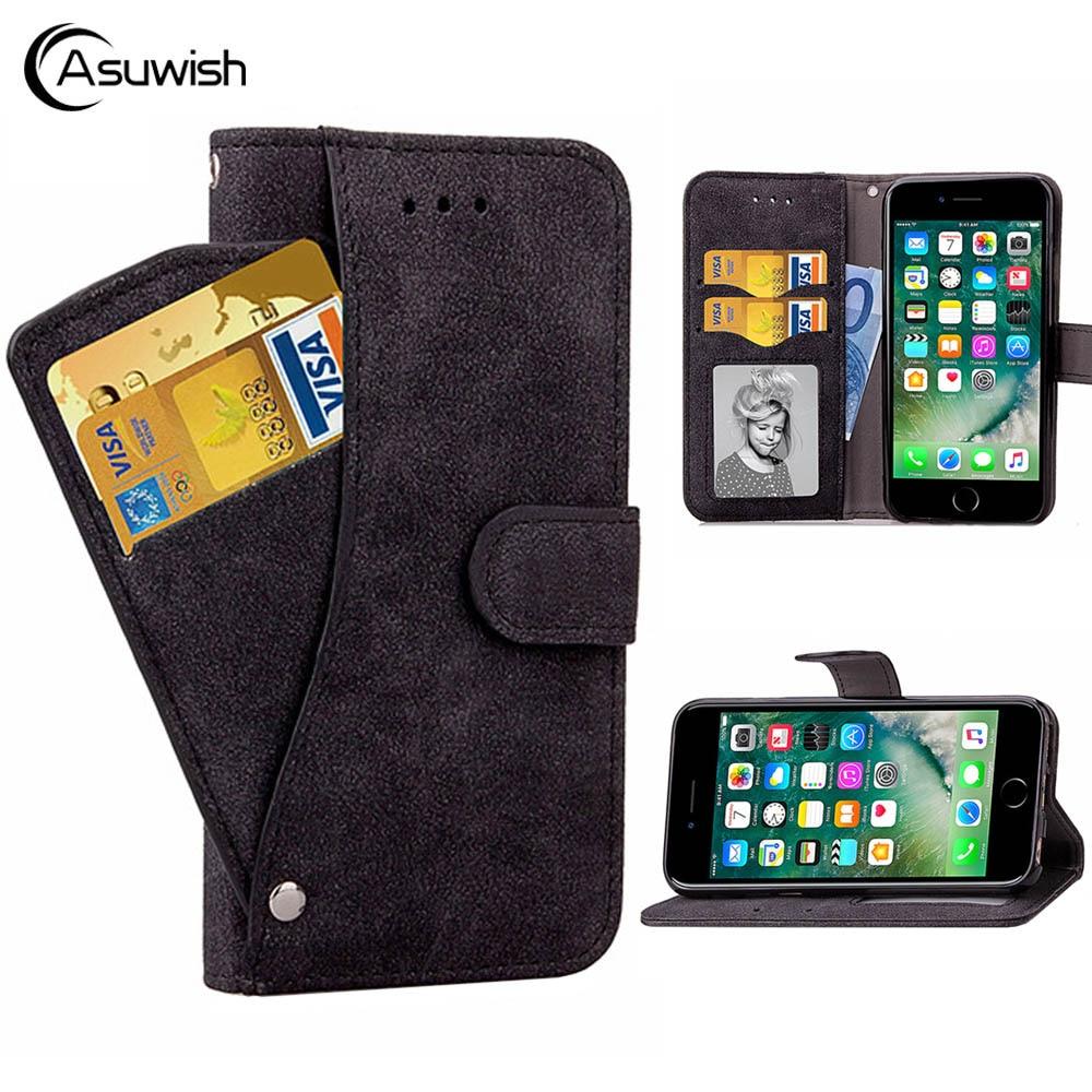 Cubierta de la cartera de cuero teléfono caso para Apple iPhone 11 Pro Max SE 2020 XR X XS X máx. 6 S 6 6s 7 8 Plus 10 7 8 plus XSmax libro de casos