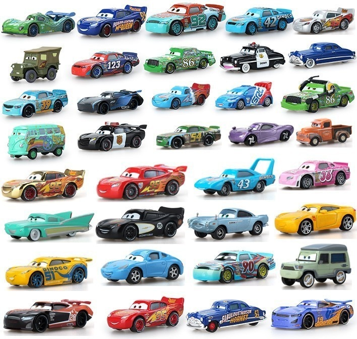 Disney Pixar coches y Tractor Diecast para niñas mujeres niños regalos modelo suelto en envío gratis niños juguetes chicos pánico compra