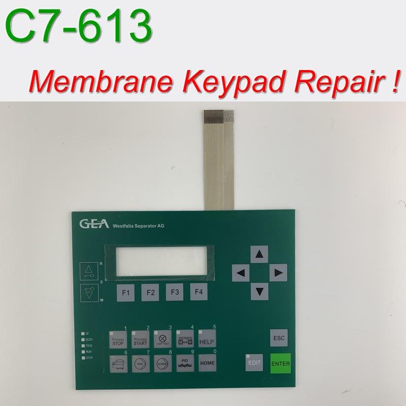6ES7613-1CA00-8AB0 C7-613 لوحة مفاتيح غشائية و قذيفة ل SIMATIC و GEA لوحة HMI إصلاح ~ تفعل ذلك بنفسك ، دينا في المخزون