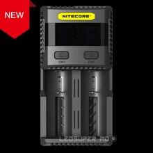 Nouveau chargeur Intelligent de charge 3A chargeur de batterie superbe Nitecore SC2 avec sortie totale 5A