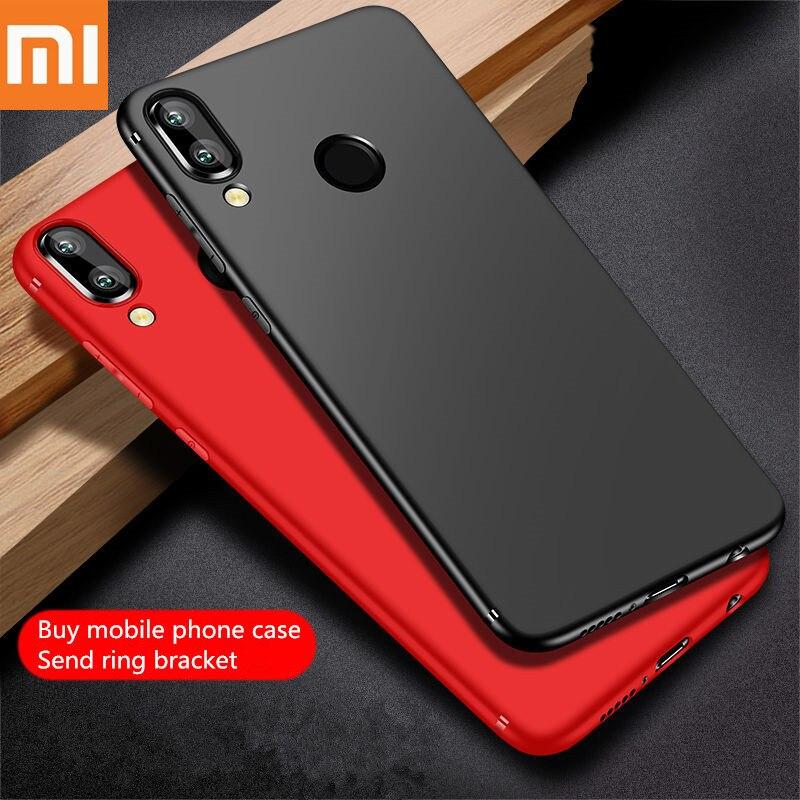 Xiaomi case Redmi case mi 9 case for mi 8 9 se lite Redmi 5 6 7 Pro mi Mix 2S 3 Max 3 Ultra-thin-Scrub-New-TPU cose Cover Coque.