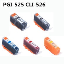 Für Canon PGI-525 CLI-526 volle Tinte Patronen Kompatibel für Canon Pixma MG6150 MG6250 MG5350 iX6550 MG5250 iP4850 iP4950 MG8150