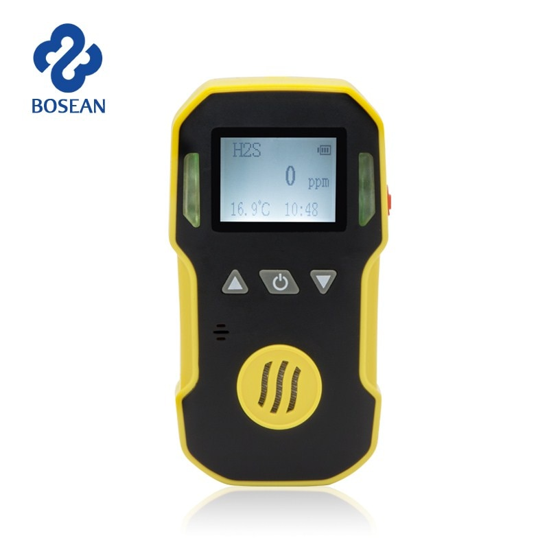 NO2 Gas Detector Nitrogen Dioxide Gas Analyzer with Alarm System Gas Leak Detector Professional NO2 Air Monitor Gas Sensor
