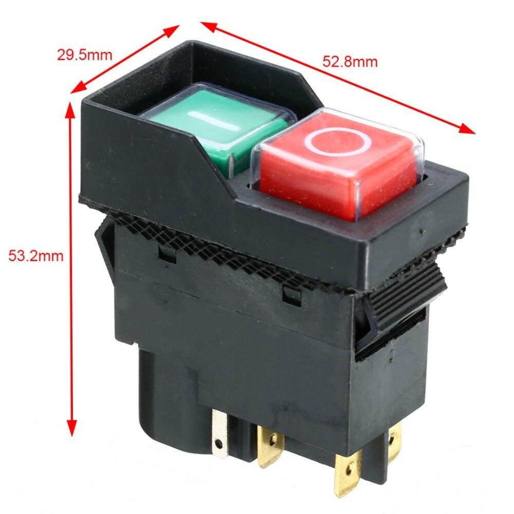 240V Elektrische Ersatz Auf Off Schalter IP54 Schutz Für Minimix 140 150 Zement Betonmischer Mayitr