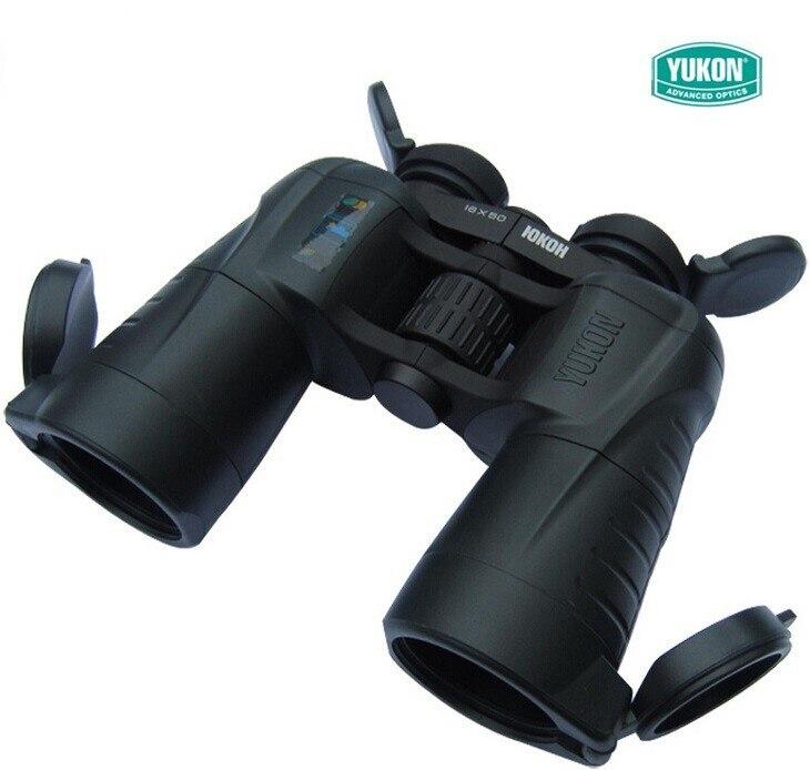 Boa qualidade 10x telescópio binocular binocular Prisma 10x50WA Eficaz em crepúsculo com tampas de Lente Eclipse