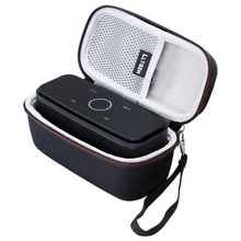 LTGEM etui pour DOSS Touch sans fil Bluetooth V4.0 haut-parleur Portable avec son HD et basses-convient au câble-noir