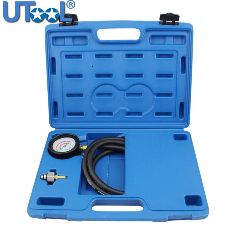 Novo testador de pressão de escape testador de pressão traseira conjunto kit ferramenta teste medidor pressão sensor