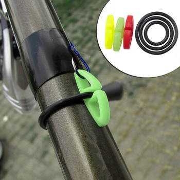 20Pcs/Set Fishing Rod Hook Keeper Lures Bait Jig Hooks Holder Fish Pole Accessories