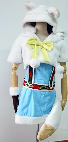 Aime Vivre! Ayase Eli renard Animal personnalisé uniformes Cosplay Costume livraison gratuite