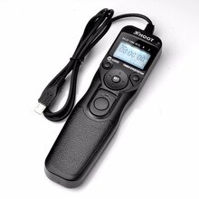 Tirer Selfie LCD minuterie télécommande déclencheur câble pour Sony Alpha A7 A7R A3000 A6000 A58 A7R II A7II NEX-3N RX100 III