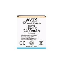Wvzs 2400 mAh Li-Ion batería HB5V1HV HB5V1 para Huawei Honor abeja Y541 Y5C Y541-U02 y560-U02 4,5 pulgadas de baterías de reemplazo
