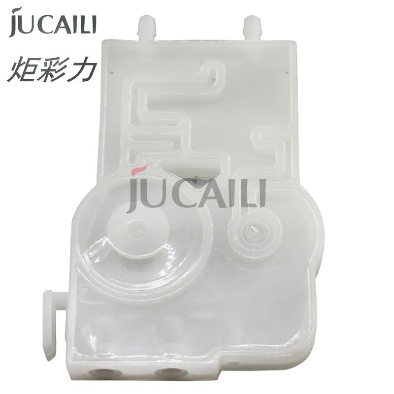 Jucaili 4 Uds regulador de tinta DX7 para Epson DX7/5113 cabezal de impresión para impresora inteligente de xenones wit-color 5113 UV/filtro de tinta solvente dumper