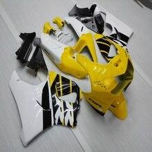Carénage de moto personnalisé coque pour CBR919RR 1998-1999 CBR 900 RR 98 99 carénages en plastique ABS + Botls + jaune