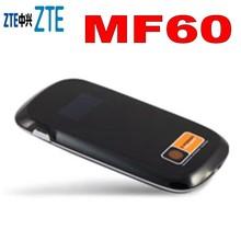 Ontgrendeld ZTE MF60 HSPA + 21 M 3G Draadloze 3g WiFi Router 3g dongle SIM Card Slot mifi router dongle pk mf61 mf91 mf80 mf90