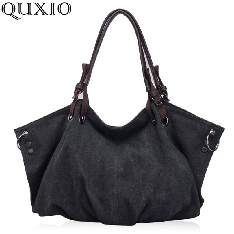 2021 New Arrival Women's Bag Fashion Casual Canvas Bag Large Capacity Handbag Shoulder Messenger Bag Many Colors BD866