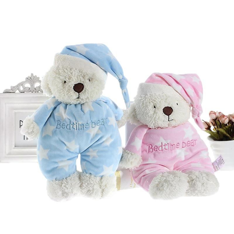 Мягкие плюшевые куклы с плюшевым мишкой, мягкие игрушки для новорожденных, Милые мишки со звездным сном, для сна, успокаивающие игрушки для ...