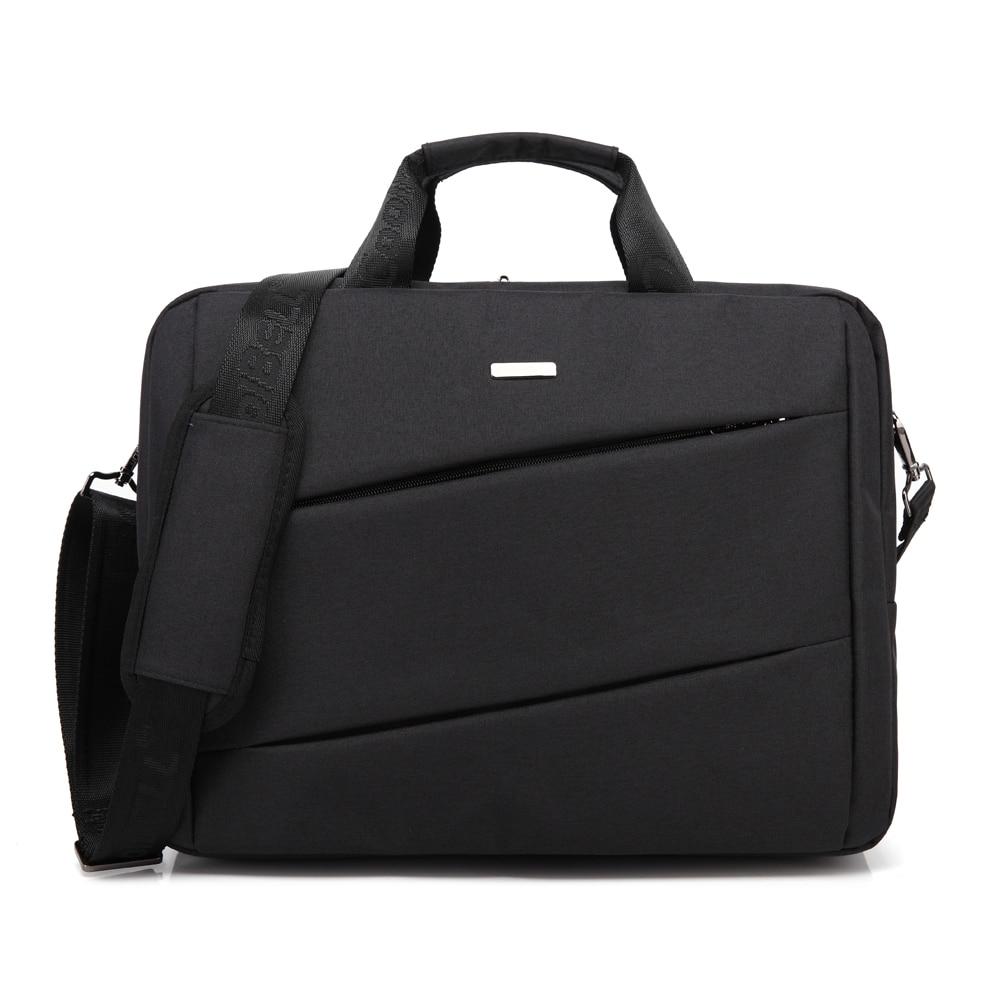 Maletín de negocios de lujo para ordenador portátil, bolso a prueba de golpes para portátil, bolso de mano, accesorio para ordenador, bolso de hombro para ordenador portátil de 15,6 pulgadas